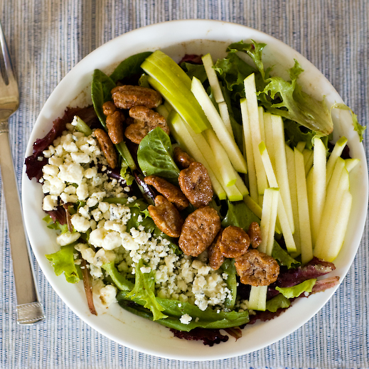 Apple, Pecan and Gorgonzola Salad