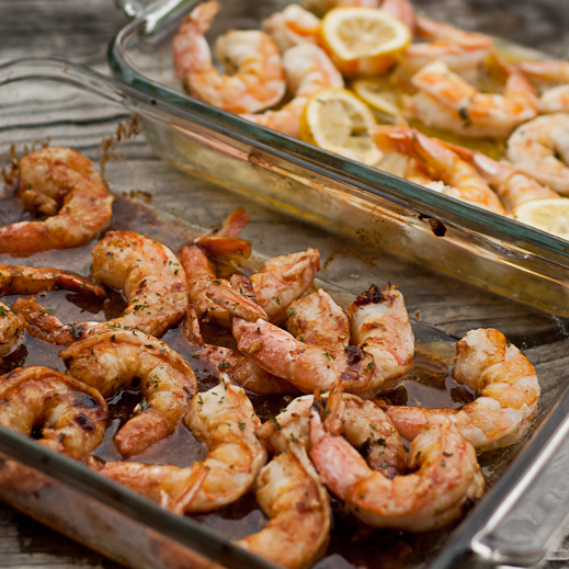 Baked Shrimp Scampi And Barbecue Glazed Shrimp Chaos In