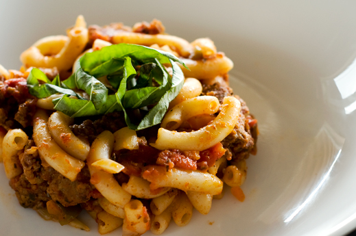 Beef and Macaroni | chaos in the kitchen