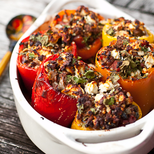 Greek-Style Stuffed Peppers Recipes — Dishmaps