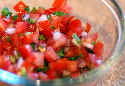 Mexican Food Recipes: SALSA PICO DE GALLO