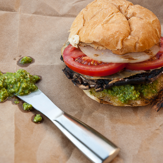 Portobello Cheeseburgers Recipe — Dishmaps