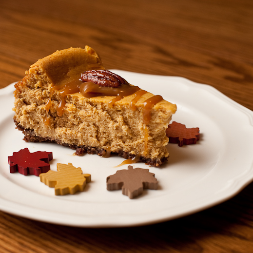 Pumpkin Pie Cheesecake | chaos in the kitchen