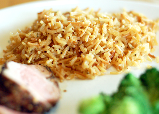 Homemade rice a roni chaos in the kitchen wowza ccuart Image collections
