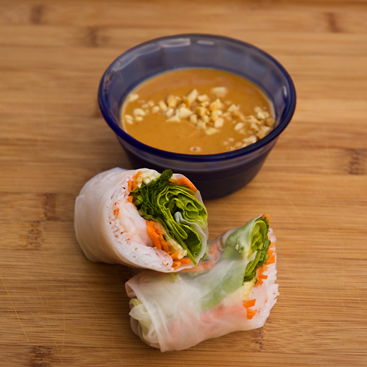 summer rolls are a perfect summer food they require very little ...
