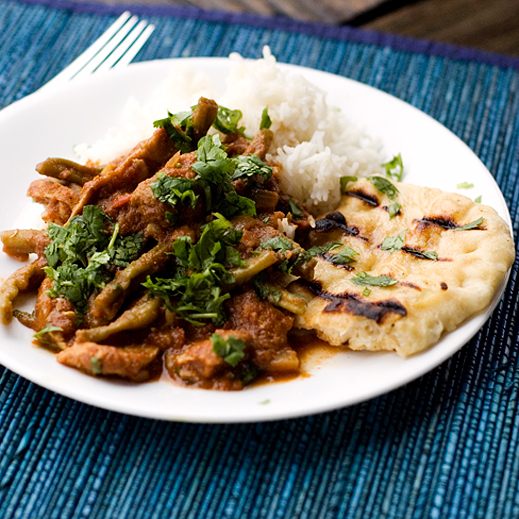 Crock pot chicken vindaloo and garlic naan chaos in the kitchen indian food forumfinder Images